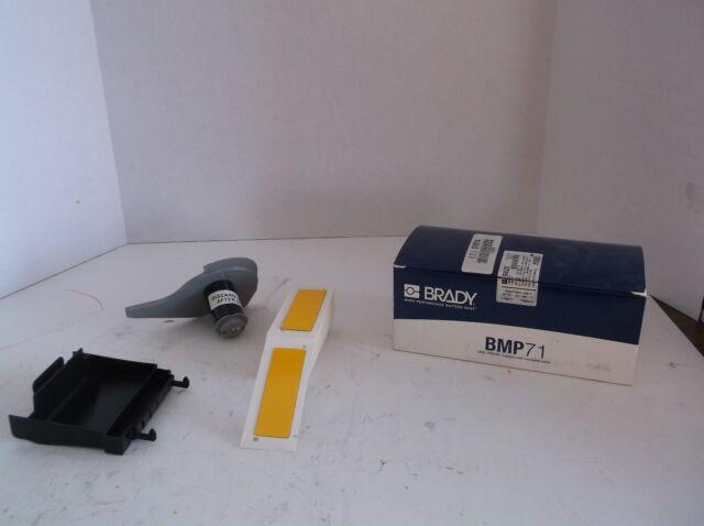 Polyester 2 Width Brady M71EP-173-593-SL Label Cartridge Silver