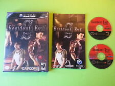 Resident Evil Zero - Nintendo GameCube NGC NTSC VERSION
