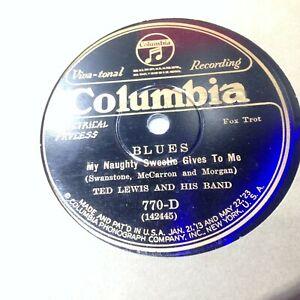 Ted-Lewis-Tiger-Rag-V-78-Columbia-770-D-1926-Dixieland