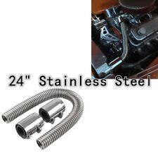 item 3 UNIVERSAL 24 Chrome Stainless Steel Radiator Hose Kit Aluminum Cl& Covers NEW -UNIVERSAL 24 Chrome Stainless Steel Radiator Hose Kit Aluminum Cl& ...  sc 1 st  eBay & Universal 24