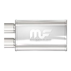 Magnaflow-14210-Performance-Muffler-2-5-034-Offset-Offset-Same-End-5x8x14-Oval