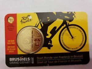 BELGIQUE - 2.50 EURO - 2019 - TOUR DE FRANCE