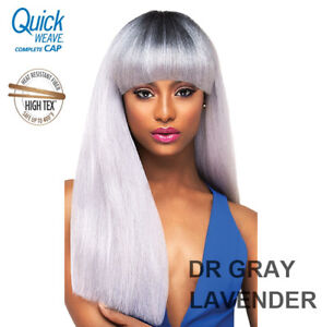81d3cf60ceb Image is loading OUTRE-QUICK-WEAVE-COMPLETE-CAP-STRAIGHT-HAIR-BANG-