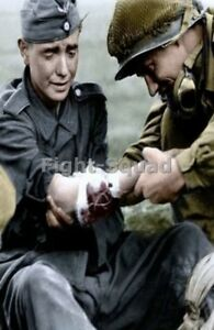 WW2-Picture-Photo-American-Soldier-Help-Wounded-German-Soldier-2958