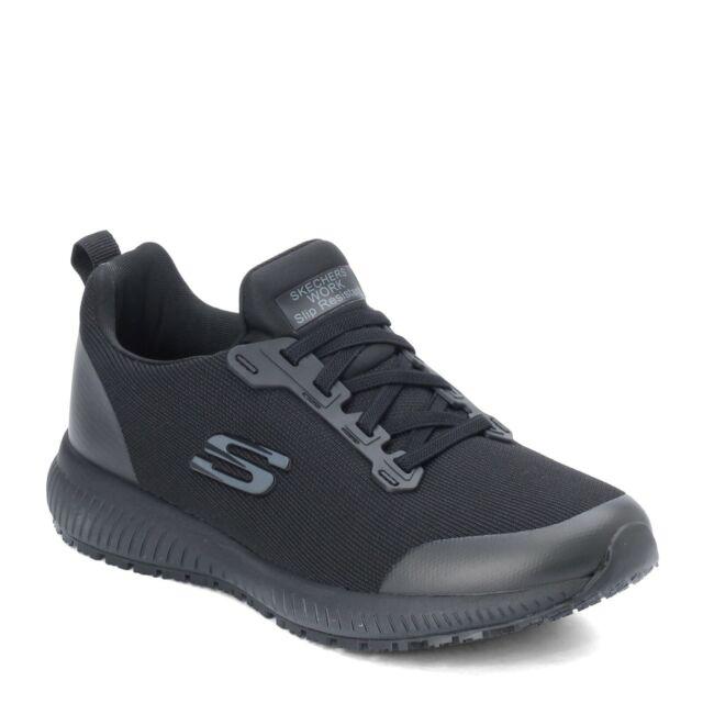 SR Black BLK Mens Slip Resistant