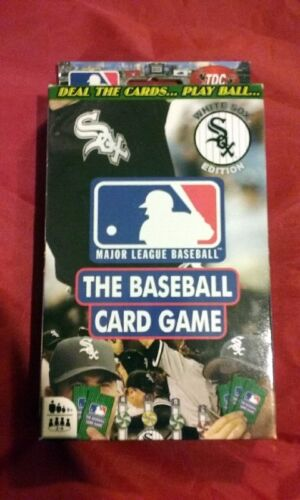 New TDC Games The Baseball Card Game  Chicago White Sox Edition Ages 8+ MLB