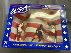 1996 Team USA Starting Lineup Charles Barkley Mitch Richmond Gary Payton New