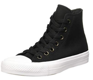 CONVERSE-All-Star-Chuck-Taylor-II-Black-Hi-Top-BRAND-NEW-NEVER-WORN