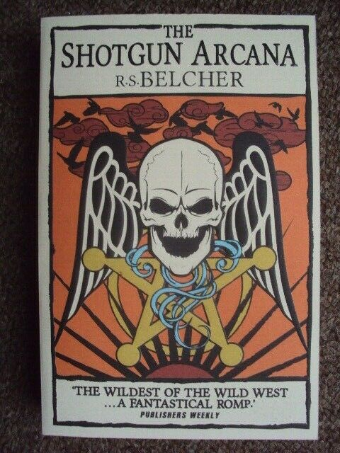 THE SHOTGUN ARCANA BY RS BELCHER NEW PAPERBACK