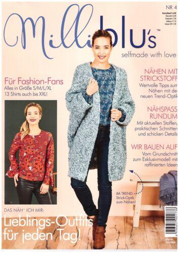 Milli Blu´s 04//2019 Herbst Winter 18//19 Zeitschrift Magazin
