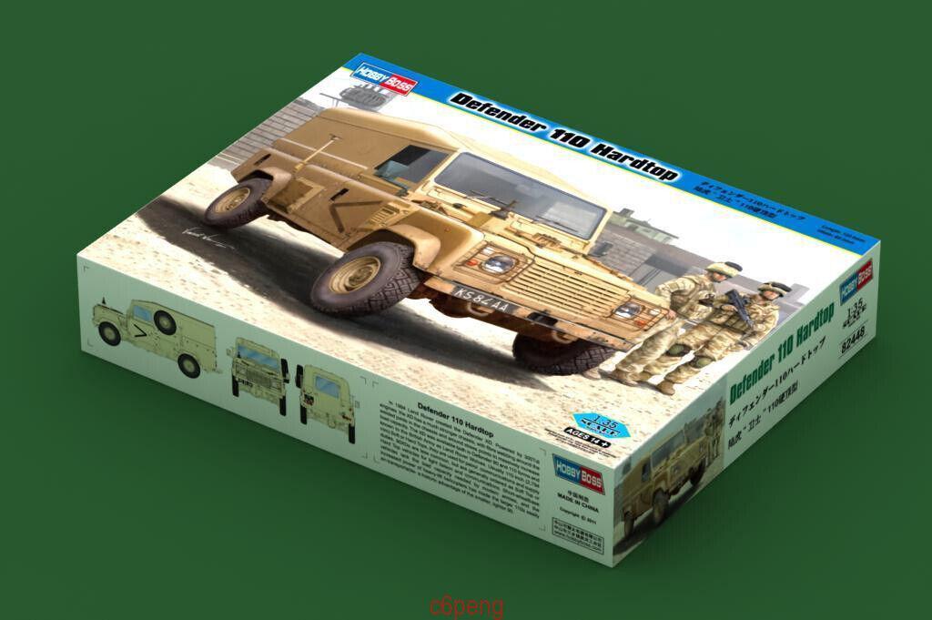 Hobbyboss 1 35 82448 Land Rover Defender 110 Hardtop Hot