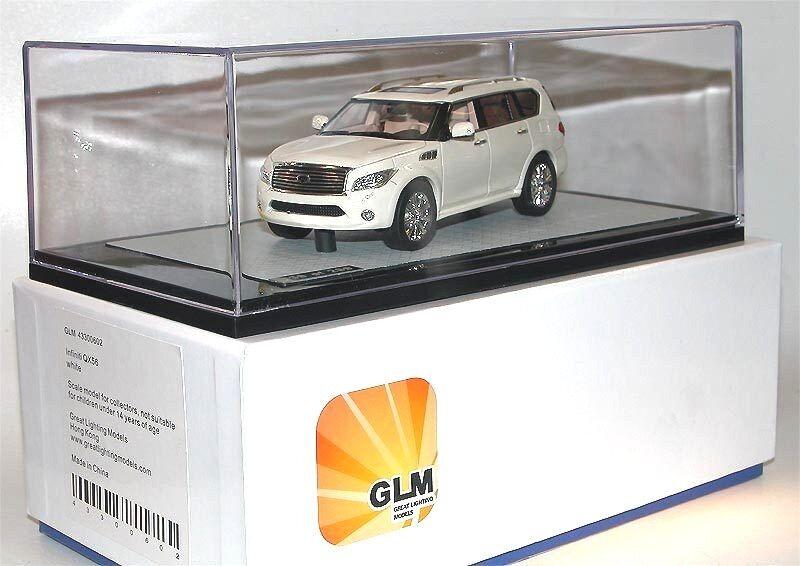 GLM 43300602-Great Lighting Models, 2011 INFINITI qx56, blanc, SUV, 1 43