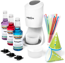 New Listinghawaiian Shaved Ice S900a Shaved Ice And Snow Cone Machine With 3 Flavor Syrup P
