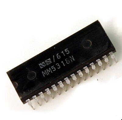 1pcs TMS3450NL LED DUPLEX DIGITAL RADIO CLOCK DIP28