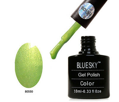 BLUESKY 10ML SPRING COLOURS UV SOAK OFF NAIL GEL POLISH COLOR MANICURE GELS SET