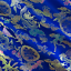 Blue-Multi-Chinese-Brocade-Fabric-By-The-Yard thumbnail 1