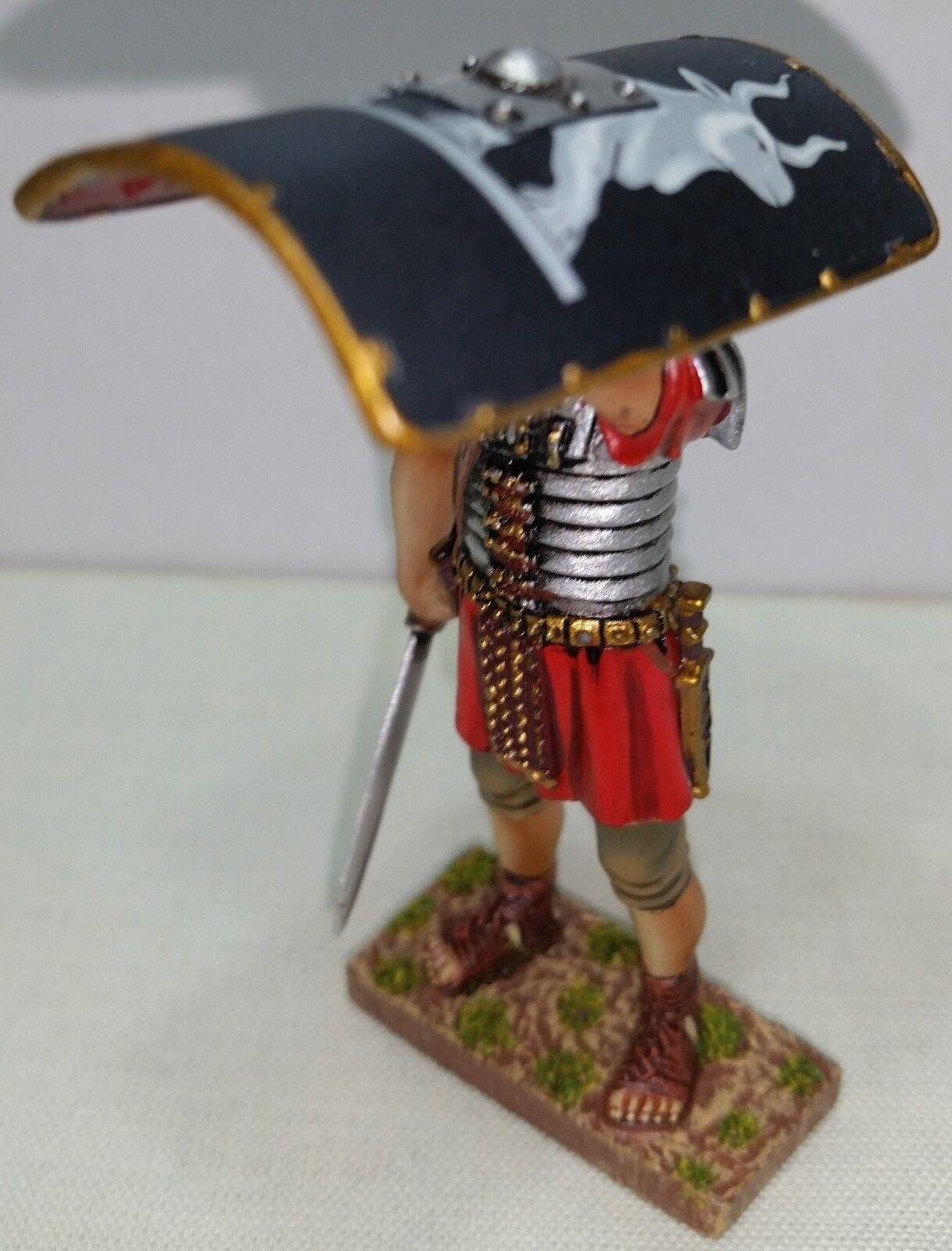 THOMAS GUNN ROMAN EMPIRE ROM069C 9TH LEGIONNAIRE SHIELD OVER HEAD SWORD RIGHT