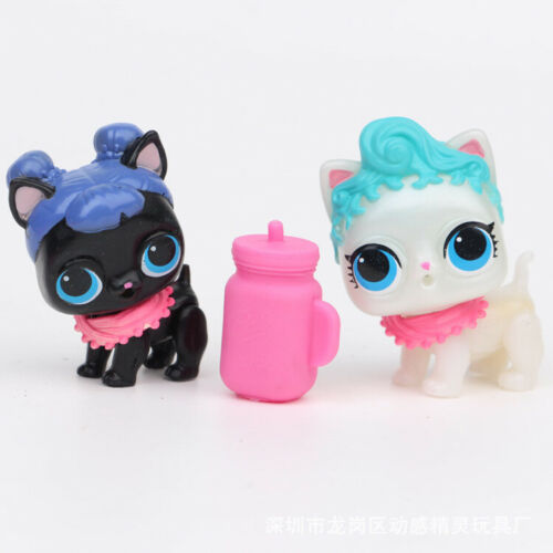 LOL Surprise Dog Doll Doggy Pets for Kids Toy Gift 6 pcs Figures Set w//Accessory