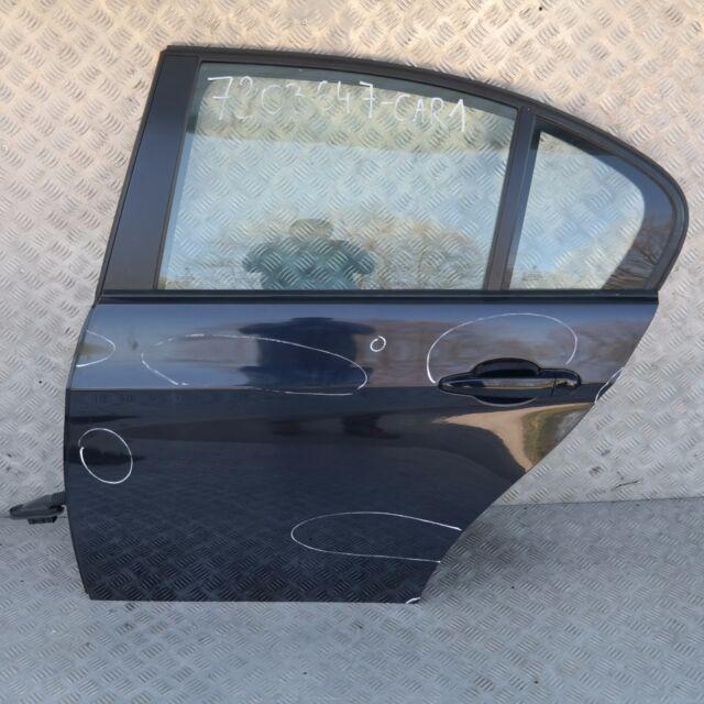 BMW 3 SERIES E90 E90N Door Rear Left N/S Carbonschwarz Carbon Black Metallic 416