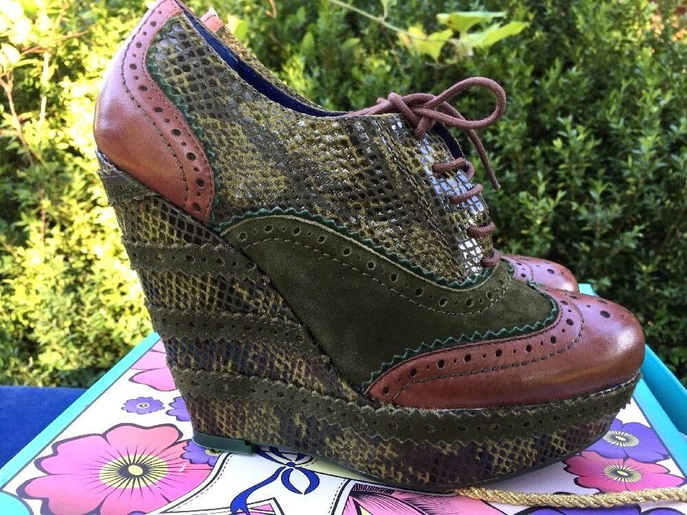 senza esitazione! acquista ora! POETIC LICENCE London Wild Safari BRAND NEW donna scarpe High High High Heels Wedges Sz 6  prendiamo i clienti come nostro dio
