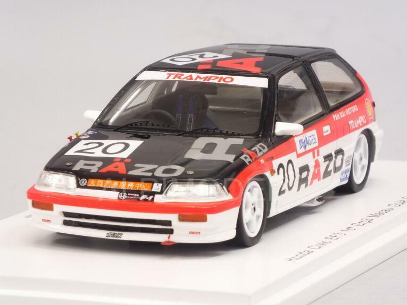 Honda Civic EF3 1st Gr.3 Macau Guia Race 1989 T.Tsutsumi 1 43 SPARK SA125