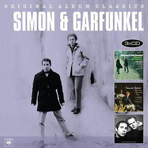 SIMON-amp-GARFUNKEL-ORIGINAL-ALBUM-CLASSICS-3-CD-NEU