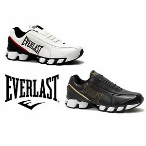 MENS-EVERLAST-CIRCUIT-ATHLETIC-SNEAKERS-RUNNERS-SHOES-Red-White-Black-Gold