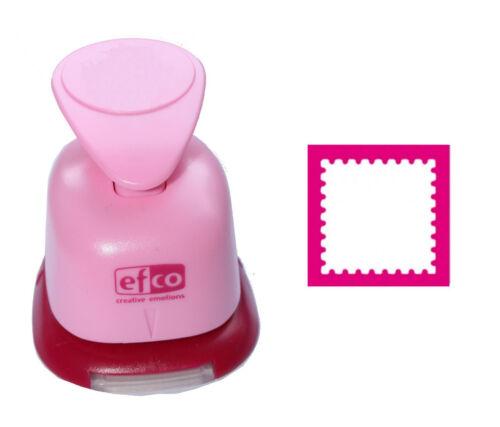 1 MOTIF-Perforateur M-XL choix Motif Perforateur EFCO carré dentelé timbre 223
