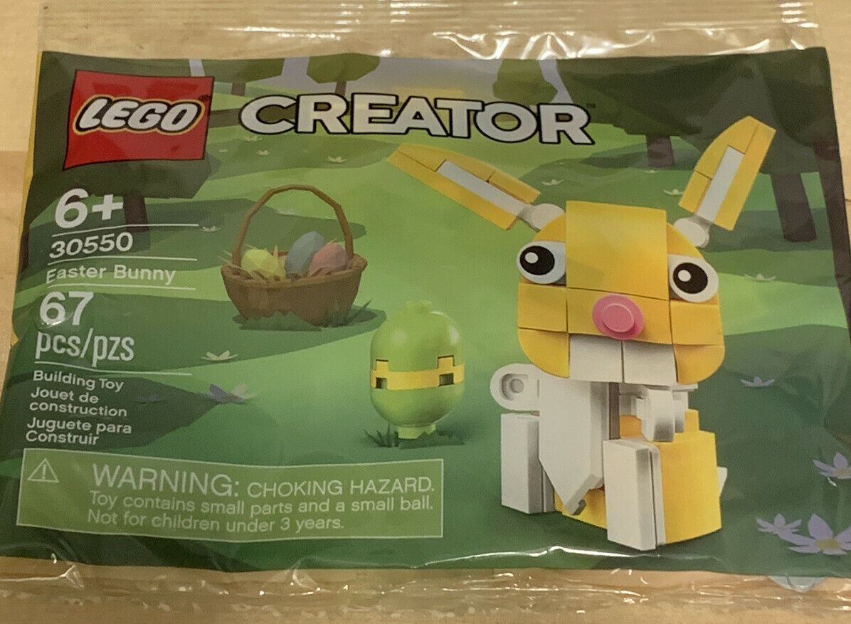 Lego Creator Yellow Easter Bunny 30550 Factory Sealed 67 Pieces