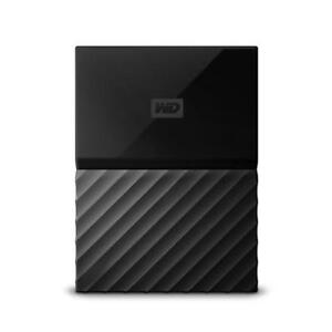 WD My Passport 2TB Black (Thin) Manufacturer Refurbished Portable Hard Drive
