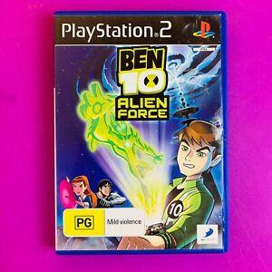 Ben 10 Alien Force - PS2 PAL *Complete*