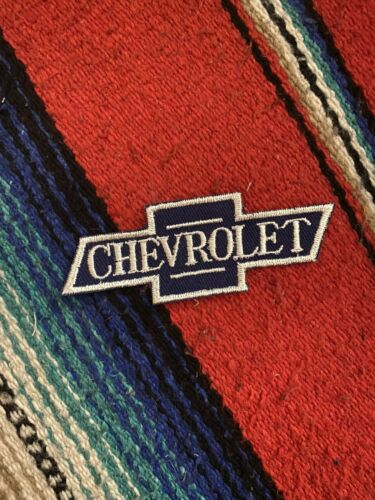 """Vintage Chevrolet Chevy Bowtie Embroidered Patch 4.25x1.75/"""""""