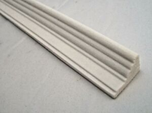 Cornice-Crown-034-Plaster-034-UMM10-miniature-dollhouse-trimpolyresin-1pc-polyresin