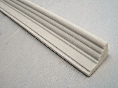 PLASTER WORK crown molding 1pc 34903 1//12 scale dollhouse miniature press foam