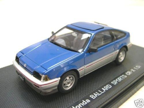 EBBRO honda balada CR-X 1.5 i 1983 RHD azul 1:43