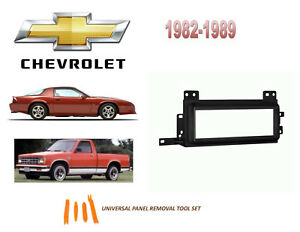 Image Is Loading Fits 1982 1989 Chevrolet S10 Camaro Stereo Install