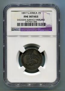 South-Africa-Zar-NGC-Certified-1897-Kruger-1-Shilling-F-Km5-Zuid-Afrika