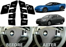 Replacement Steering Wheel Control Button Stickers For 2008+ Malibu Corvette New