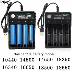 4-Slots-Battery-Charger-Smart-Charging-For-18650-Rechargeable-Li-Ion-Battery-USB