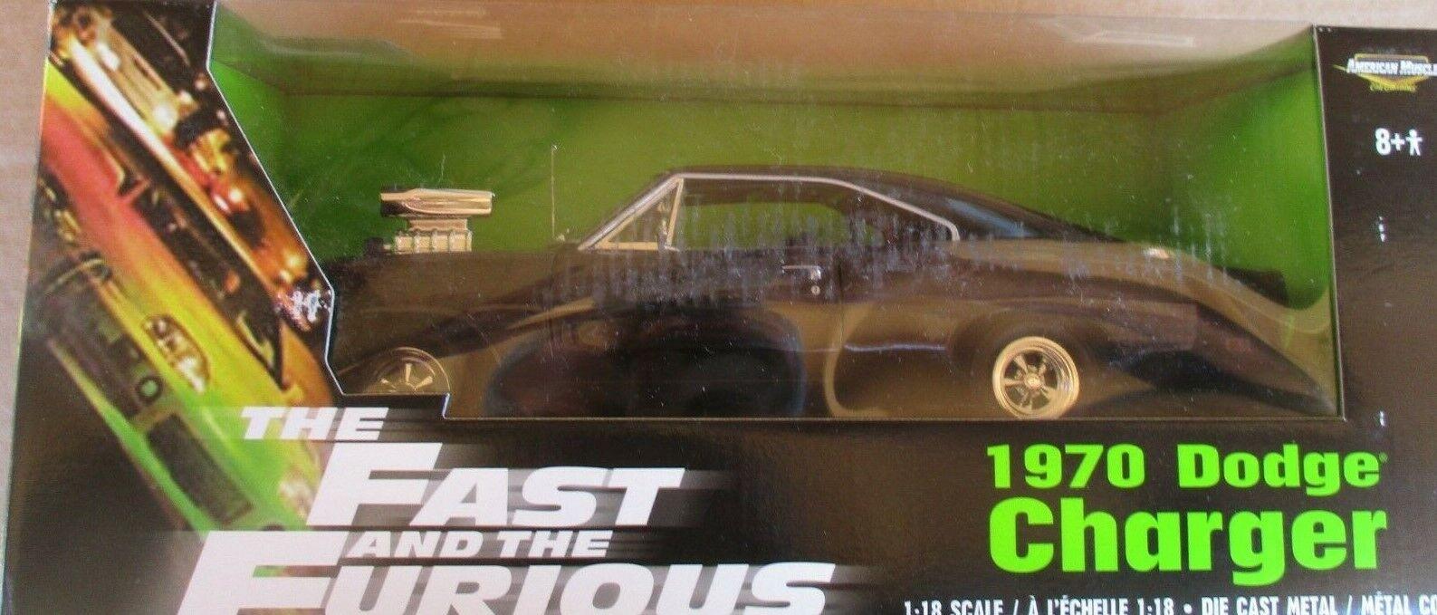 almacén al por mayor Ertl Ertl Ertl American Muscle el rápido y el furioso edición 1970 Cochegador De 1 18'70 2002  toma