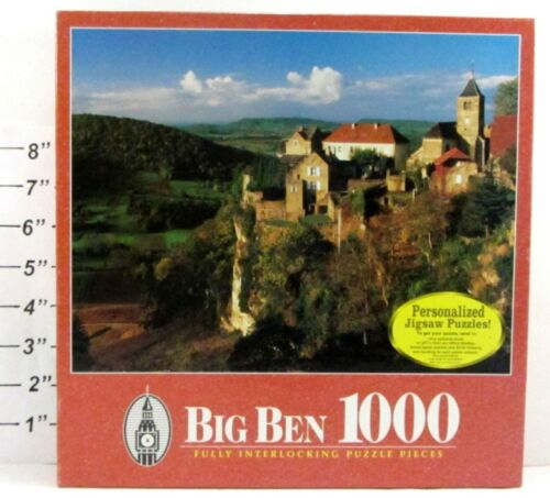 Big Ben 1000 Piece Jigsaw Puzzle Chateau -Chalon, France -French Countryside