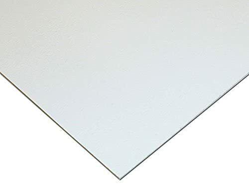 """HIPS High Impact Styrene Polystyrene Plastic Sheet .060/"""" X 24/"""" X 24/"""" White Color"""