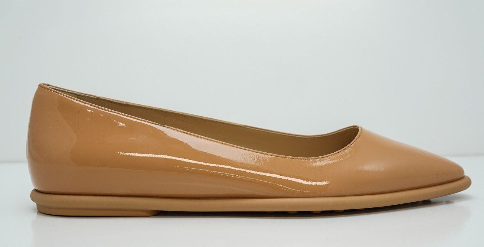 Negozio 2018 New in Box Box Box Tod's Ladies Cameo Patent Leather Ballerina scarpe AOS320  outlet in vendita