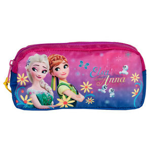 Disney-Frozen-Pencil-Pouch-Case-Tube-School-Girls-Anna-Elsa