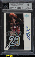 2003 Exquisite Coll Number Pieces LeBron James RC PATCH AUTO /23 BGS 9 MT (PWCC)