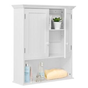 Wall Mount Bathroom Cabinet Storage