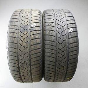 2x-Pirelli-Sottozero-Hiver-3-MOE-245-40-r19-98-V-Dot-2016-5-mm-Runflat