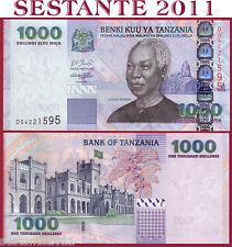 TANZANIA -  1000 1.000 SHILLINGS SHILINGI nd 2006   -   P 36b   -    FDS / UNC