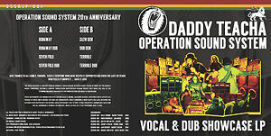 DADDY-TEACHA-OPERATION-SOUND-SYSTEM-Vocal-amp-Dub-Showcase-LP-UK-REGGAE-amp-DUB