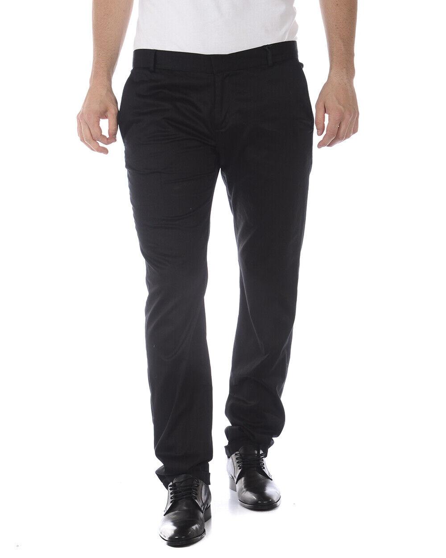 Pantaloni Daniele Alessandrini Jeans Trouser ITALY men black P2948N5873401